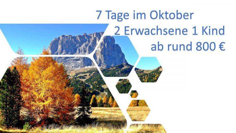 Kurzurlaub Südtirol